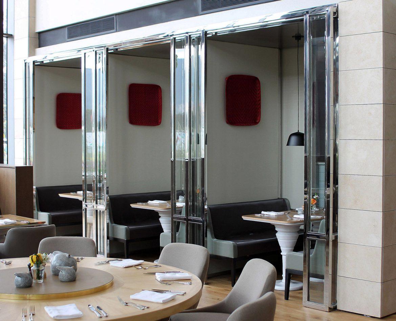 Mobiliario para restaurante de lujo